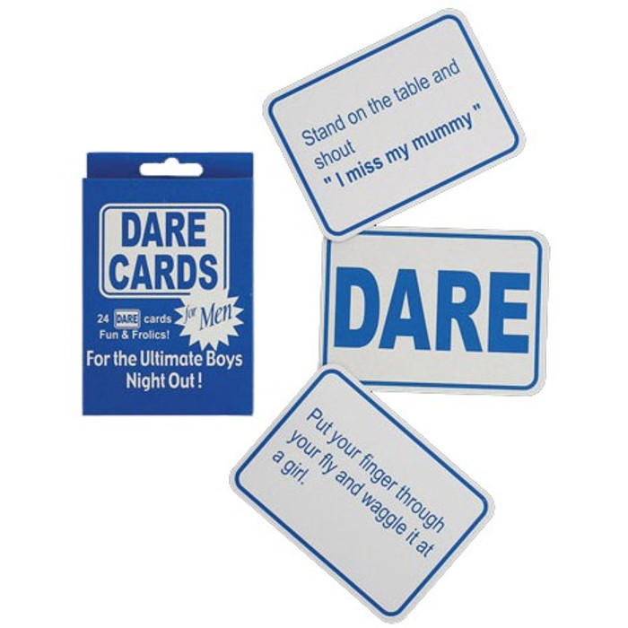 Dare Cards For Boys game