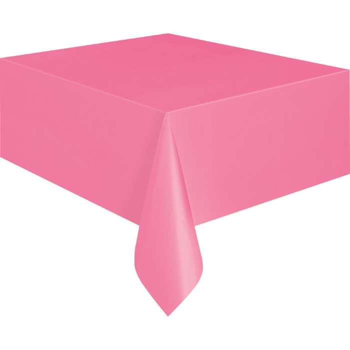 Hot Pink Tablecover 134X274cm