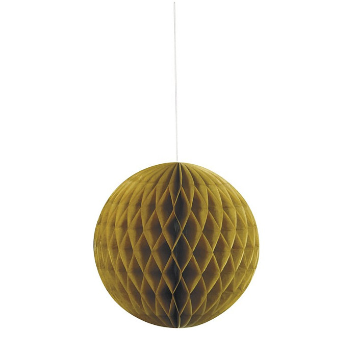 Honeycomb Ball Gold 20.3cm